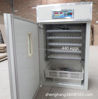 Microcomputer-Automatic 440 chicken brooder/ Eggs Incubator for sale new agricultural machines names and uses