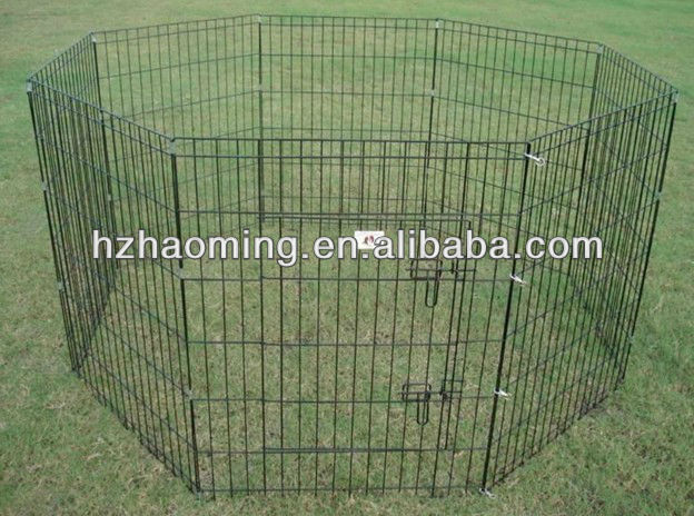 metal folding wire rabbit enclosure / pet fence