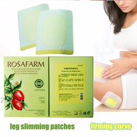 get rid of leg fat 16pcs/8bags banish leg fat wonder patch treatment Thigh fat removal slimming pads slim leg fat burner