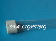 TUV PL-S 5W/4P Quartz 185nm Ozone 5W 84mm Length 2G7 Single Ended 4 Pins UVC Germicidal Lamp