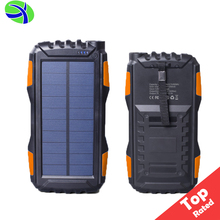 2017 Top Power Bank Solar Charger for Cell Phone, 25000mah Portable Solar Powerbank Mobile Charger, Dual USB Solar Power Bank