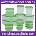 Plastic food storage containers ,H0T19 cheap plastic food container for sale
