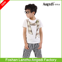 Trade assurance children boys fashion t shirt from clothing manufacturers china