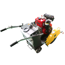 Manual concrete floor cutting machine