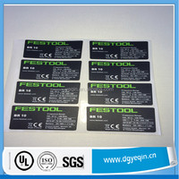 Electrical appliances label,manufacture scutcheon,custom sticker