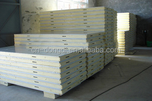 pu sandwich panel of cold room made in Changzhou China