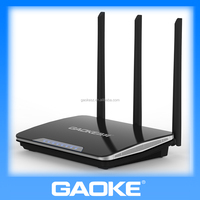 QH303 High power Chipset BMC5357 300Mbps wifi router with Antennas SMA 5dBi antenna 3pcs 1WAN port + 3LAN ports 4M flash,