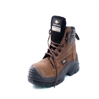PU solo full grain smooth leather military safety shoes EN 20345 S3 HRO HI CI heat resistant