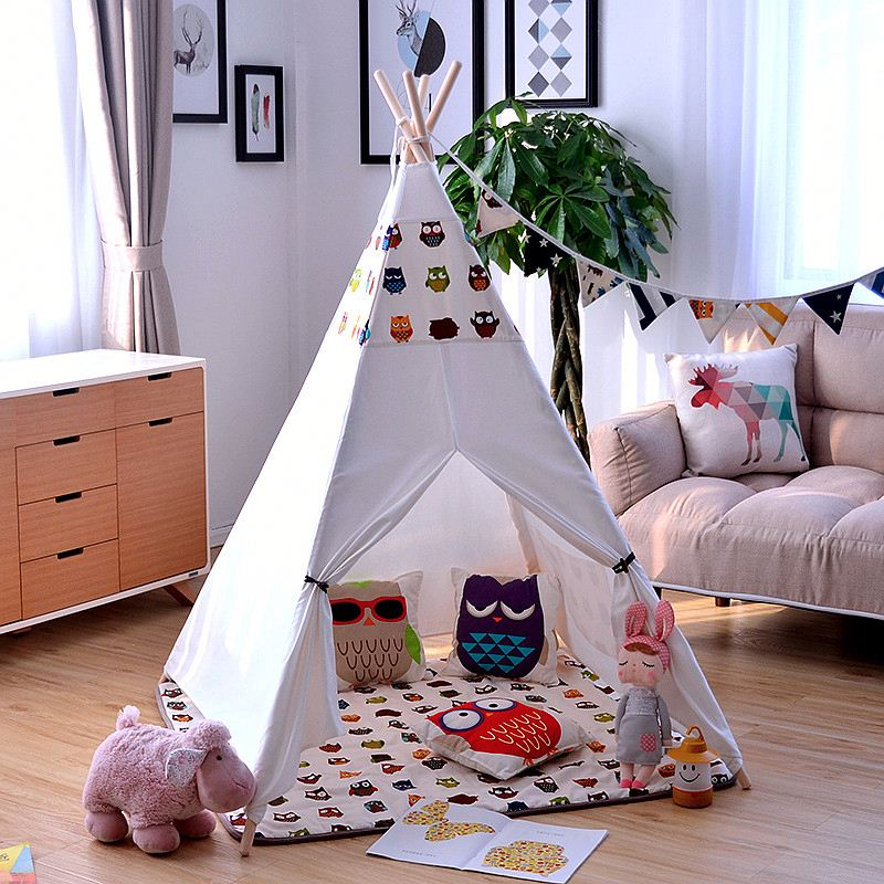 News animal kids teepee play tent house