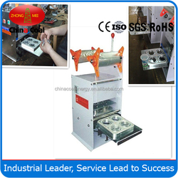 Easy operate plastic cup sealing machine on sale