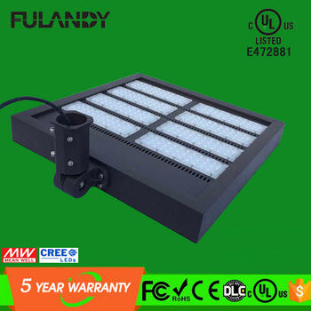China factory largest led projector/led area light 300w 450w 400w led flood light cul dlc ul listed with meanwell and cree led
