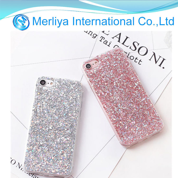 Luxury Bling Diamond Glitter Shockproof Soft Phone Case For iPhone 6/7/8