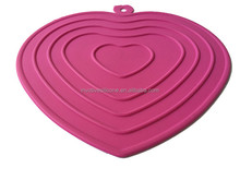silicone heat resistant table pad/place mat/pot mat