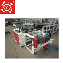 Automatic small-scale shopping plastic bag making machine