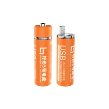 Mini Power Bank AA battery Style, Micro USB Rechargeable AA Battery Portable Powerbank 1250mAh Built-in Mobile Phone Charger
