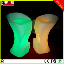 Decorative Illuminated Club Cafe LED Bar Chair