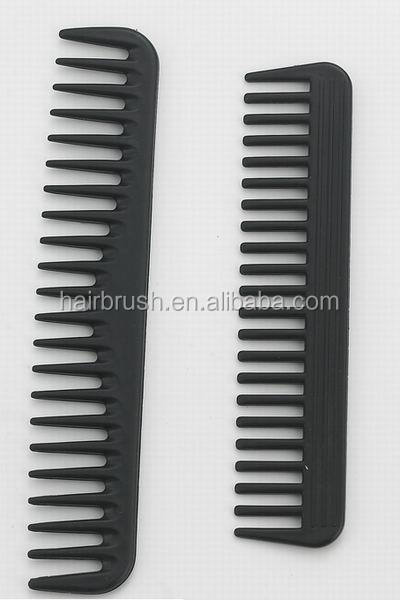Professional barber carbon hair comb