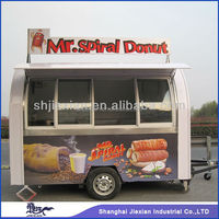 JX-FS290D Professional factory Manufacturing Customized Design Outdoor Mobile Donut van