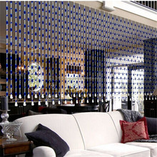 China supplier crystal glass door bead curtains for home decor