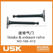 Intake&exhaust vavle gasoline generator spare part