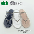 Female fashion new pvc cheap slippers