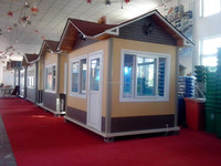 cost effective prefab garden house/ CE&BV certified modular container offices/Portable light steel container house