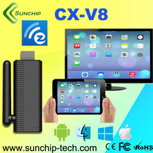 SUNCHIP Ezcast DLNA WLAN Dongle WiFi Display TV Wireless Share Push Receiver HDMI 1080P