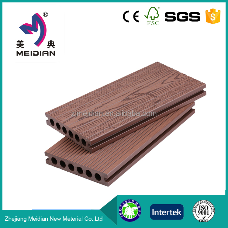 Easy installation water resistance wpc wood plastic composite decking floor for outdoor