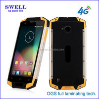 4G SWELL X9 rugged phone 5 inch 3-proof call bar mobile phone ruggedized X9 outdoor waterproof smartphone from SWELL