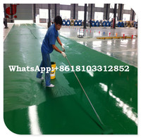 Corrosion resistant epoxy self leveling floor paint