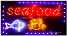Hot sale custmozied colourful electric advertising signs lights
