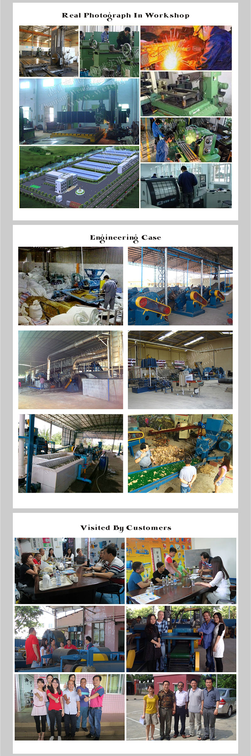 Thailand Reclaimed Rubber Roll Mill Rubber Recycling Factory