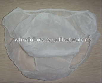 PP disposable briefs