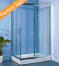 Polished Bathroom Simple Shower Enclosure LR606-1 Square Shower Cubicle