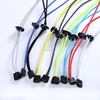 3mm Round Lock Shoelaces Colorfuly Elastic