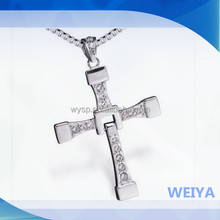Fast And Furious 7 Necklace In Memory Of Paul Walker Cross Necklace