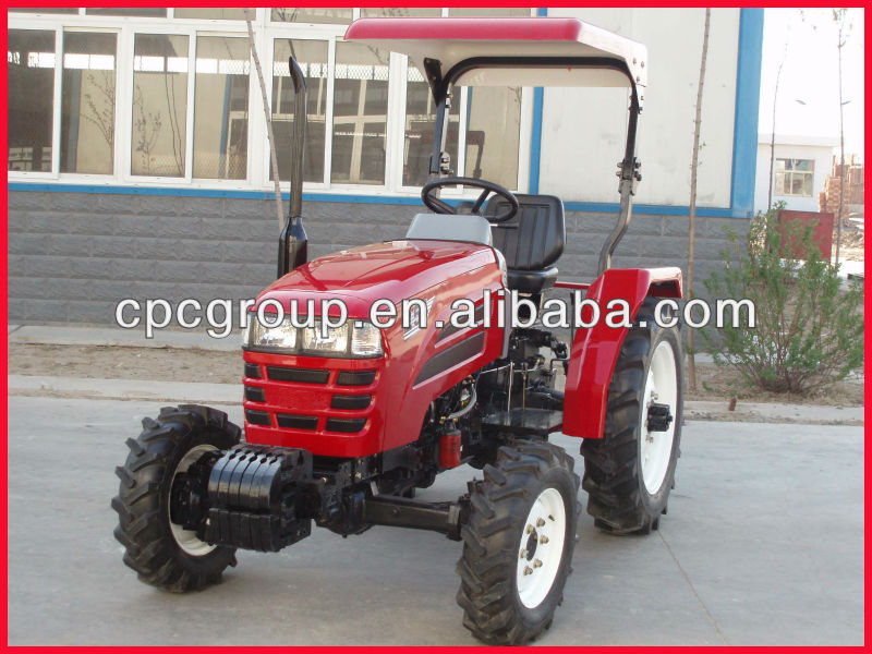 high quality Farm Tractor 254 with sunshade&roll bar 2013 hot sales