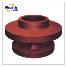 Ductile cast iron fire hydrant accessories with sand casting process
