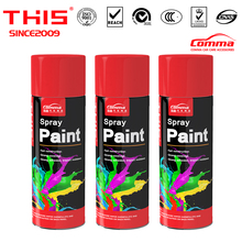 Car Paint 450ml tin spray paint fluorescent graffiti metallic protection color spray paint