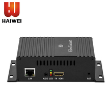 Haiwei HD video encoder H.264 audio and video encoder push live video webcast