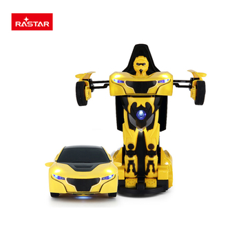 Rastar Hot seller RASTAR die cast robot toy transformable car