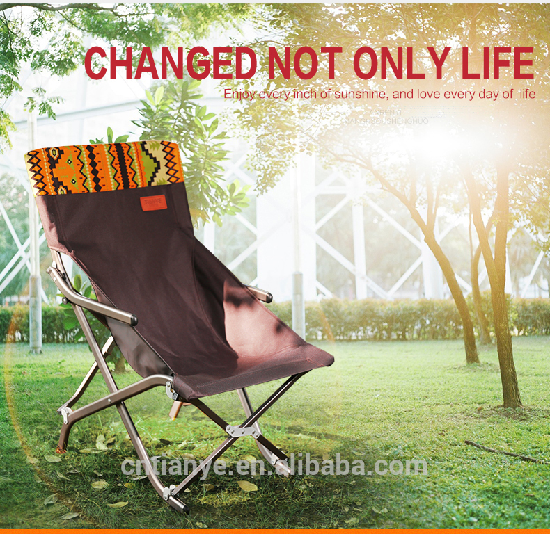 Tianye professional factory folding camp chairs Novelty design camping chairs