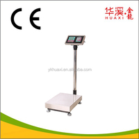 150kg 45x60cm Stainless Steel Electronic Platform