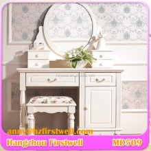 Bedroom Furniture Wrought Iron Dressing Table,Dressing Table with Cupboard