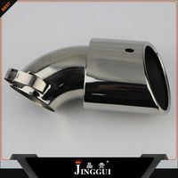 steel exhaust muffler/exhaust pipe/tail pipe for qashqai