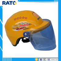 Yellow half face motorcycle helmets cheap selling