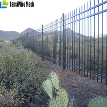 China supplier Low Carmen Steel Garden Security Fence, Plastic Garden Security Fence,Decorative Garden Security Fence