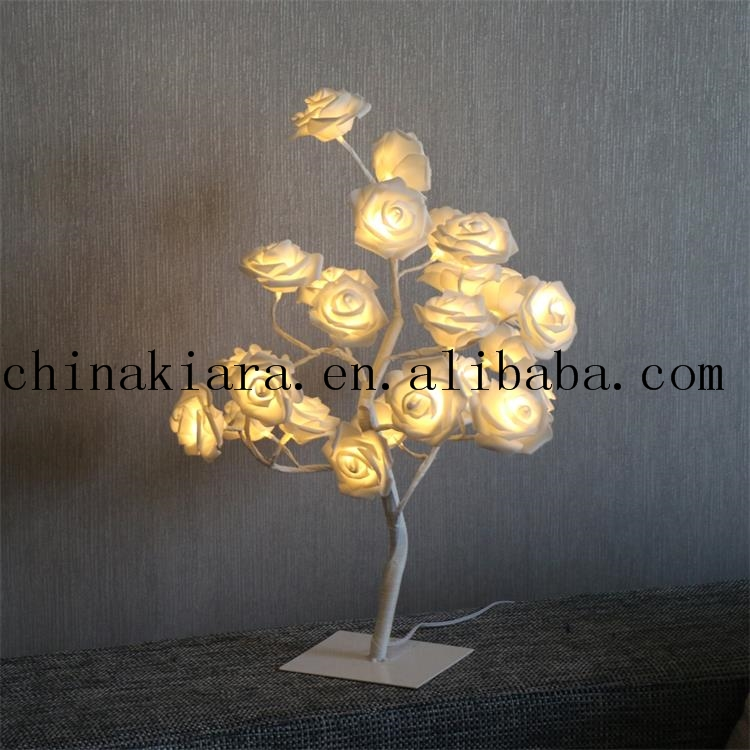 Best Selling Wedding Decoration Led Lighted Rose Tree