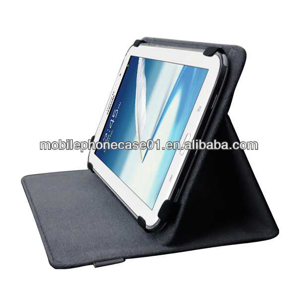 "book stand universal leather case for tablet 7""&8"""