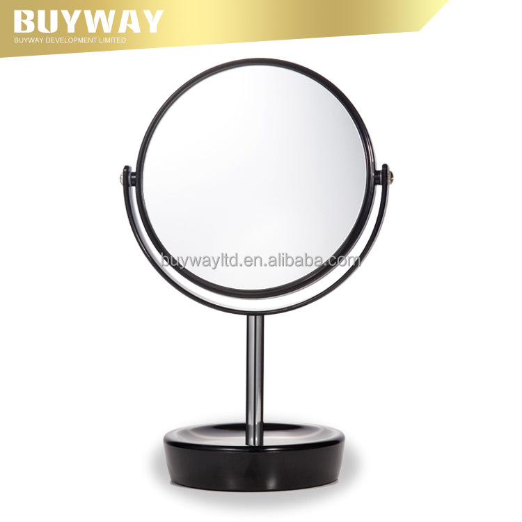 promotional plastic desk make-up beauty cosmetic mirror